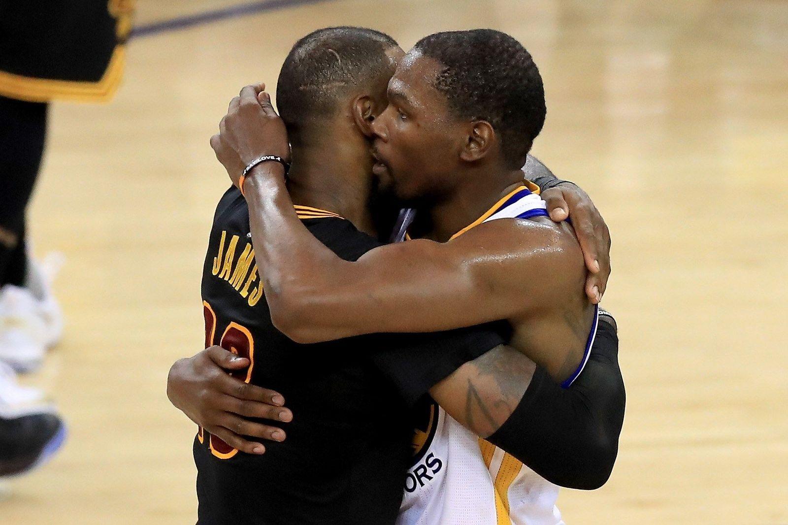 NBA LeBron James Kevin Durant