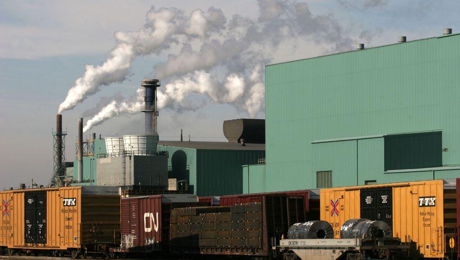 Stahlwerk in Ontario