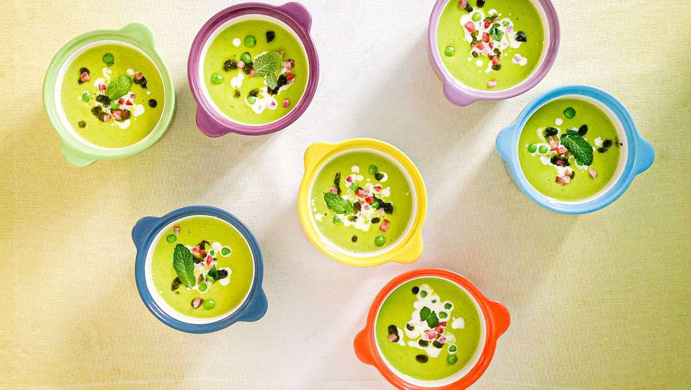 Verena Lugerts Erbsen-Minz-Suppe