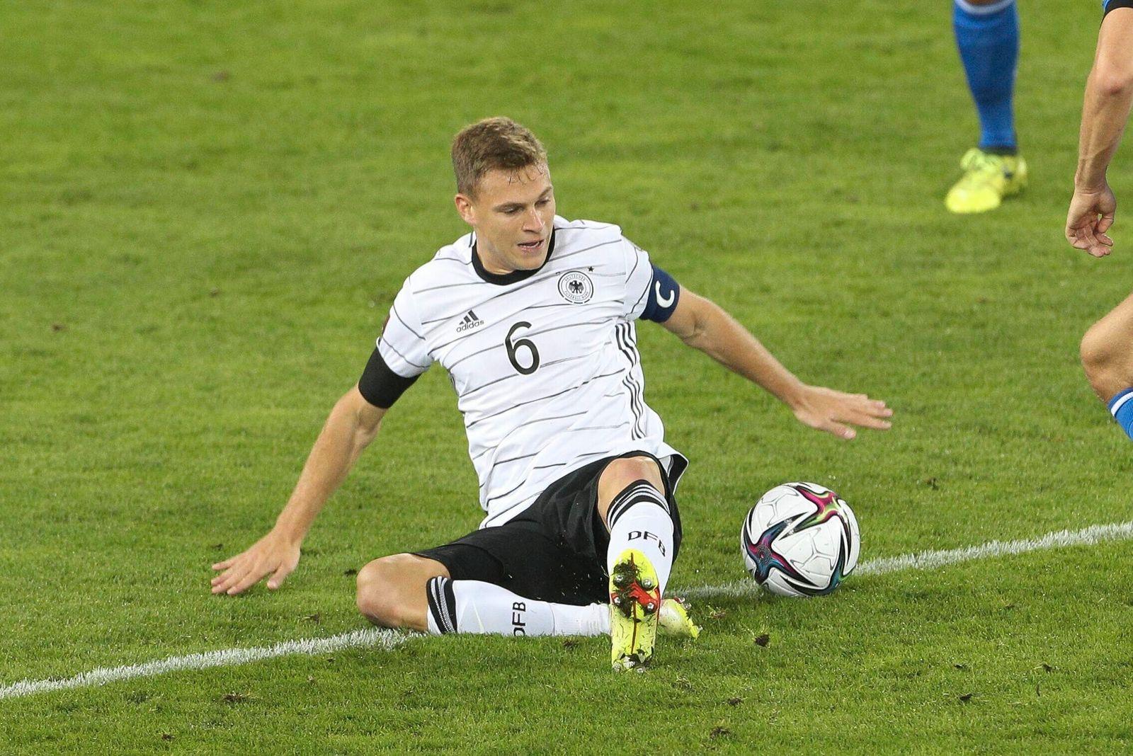 Joshua Kimmich 6 (Deutschland), Liechtenstein vs. Deutschland, WM-Qualifikation, 02.09.2021 Innsbruck Tirol Oesterreich