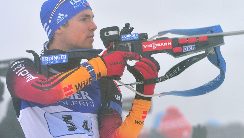 Biathlet Schempp: Vierter Platz mit der Staffel in Oberhof