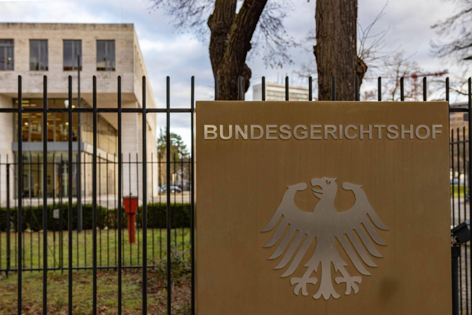 Bundesgerichtshof Bundesgerichtshof Karlsruhe *** Federal Court of Justice Federal Court of Justice Karlsruhe