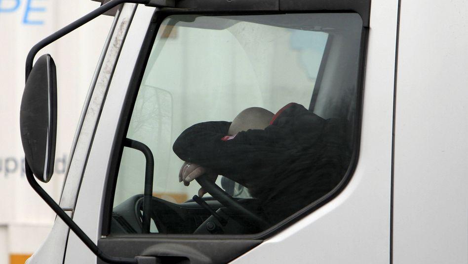 Für Lkw-Fahrer sollen in Europa bald bessere Arbeitsbedingungen herrschen
