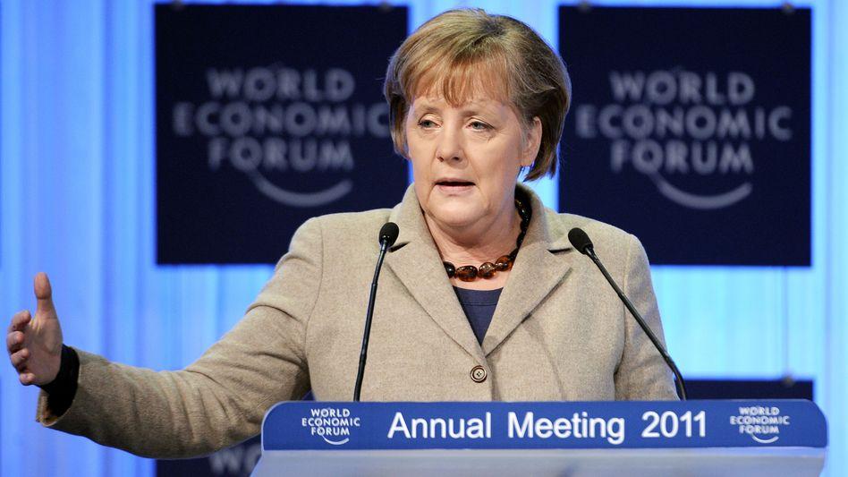 """Bundeskanzlerin Merkel: """"Pakt für Wettbewerbsfähigkeit"""""""