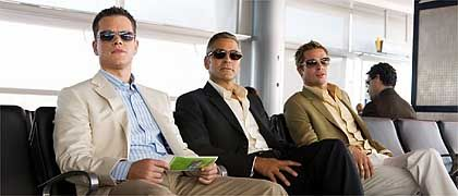 "Coole Kerle: Matt Damon, George Clooney, Brad Pitt in ""Ocean's Thirteen"""