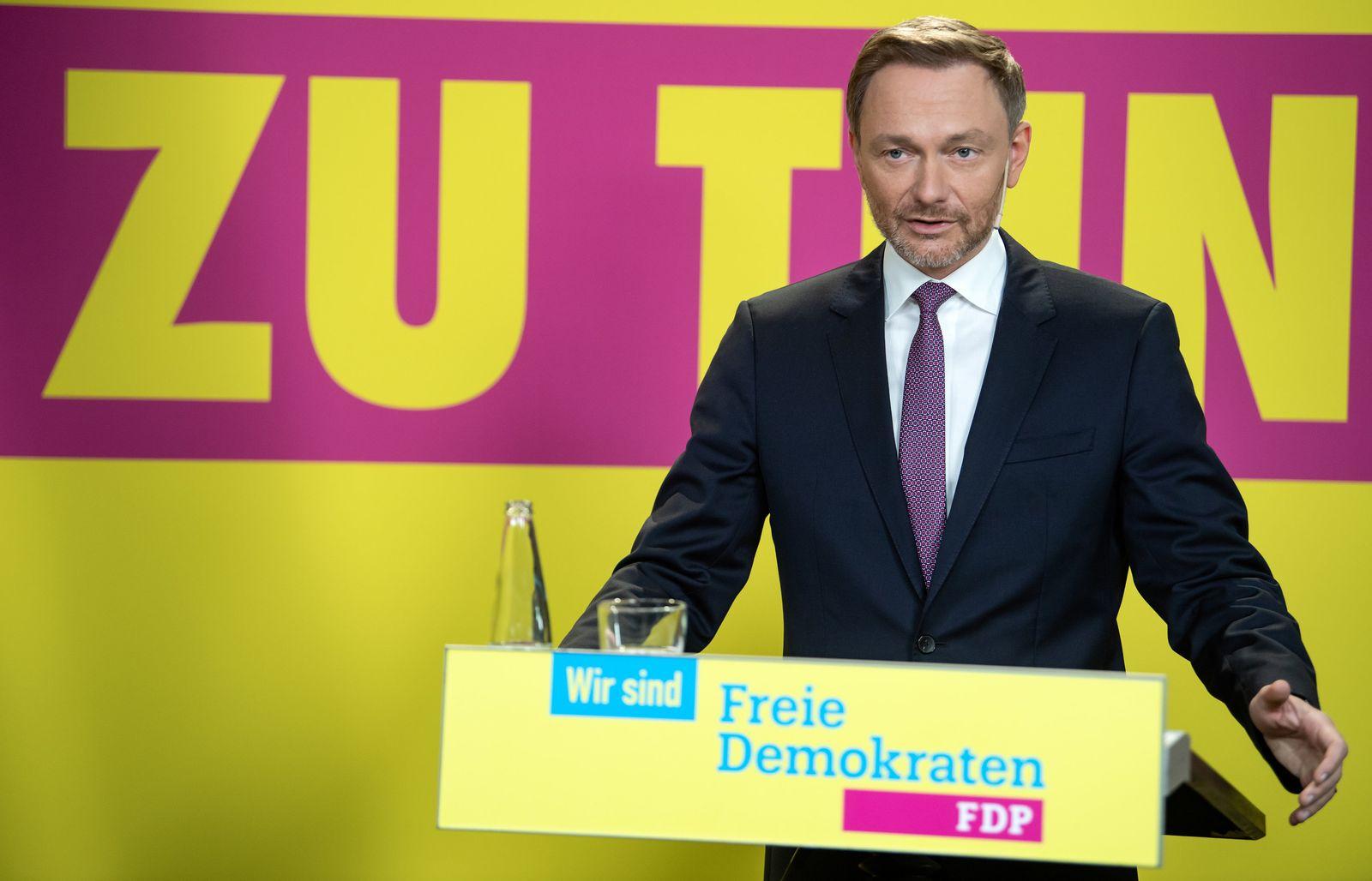 Entwurf des FDP-Bundestagswahlprogramms vorgestellt