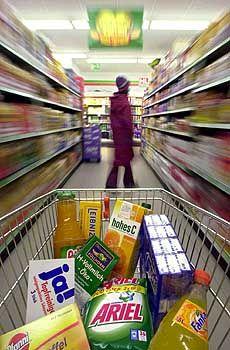 Einkaufswagen: Preisauftrieb allerorten