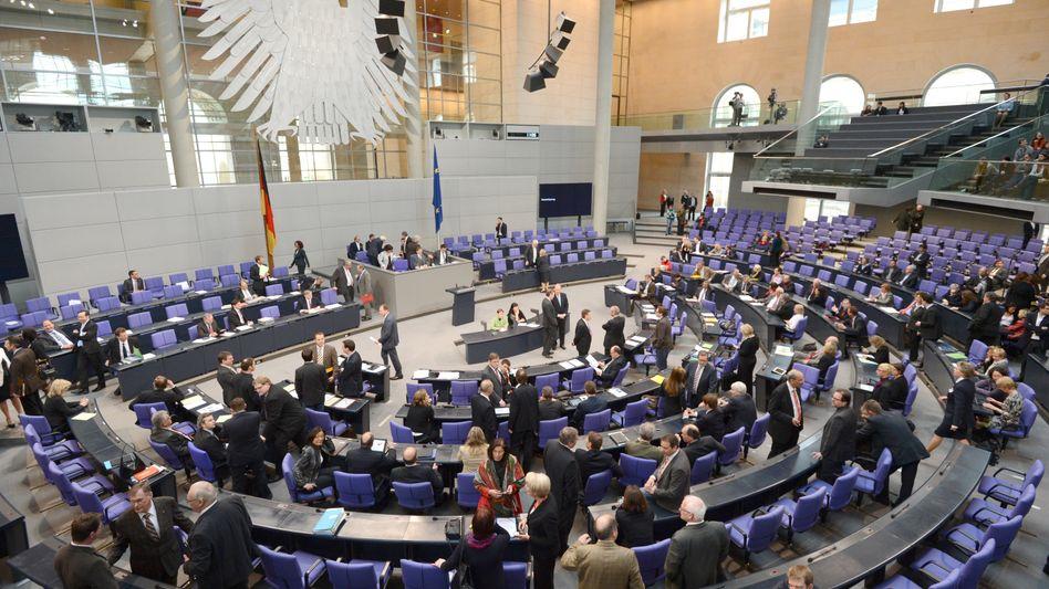 Abgeordnete im Bundestag: Kaum Chancen für Abweichler