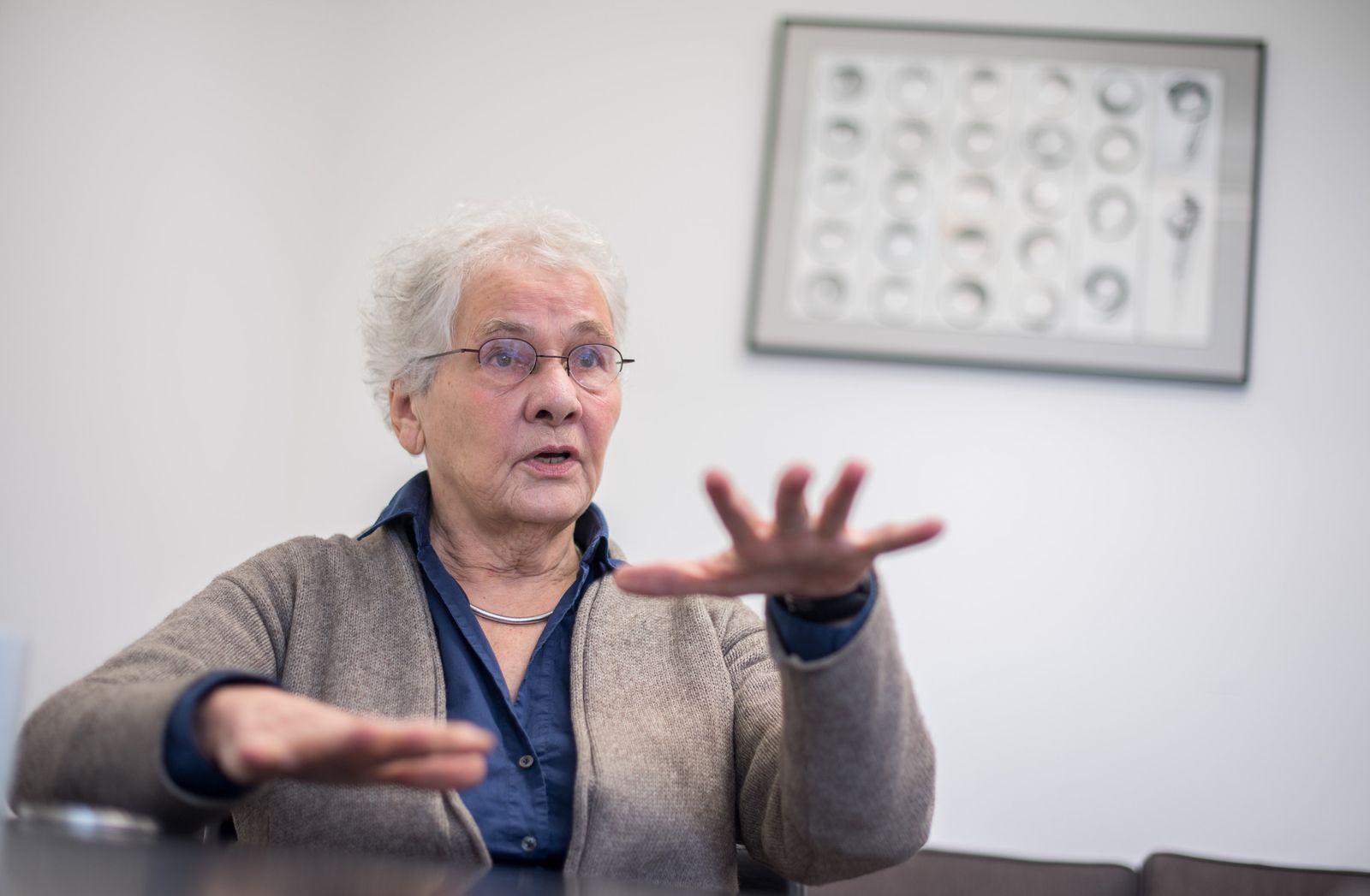 Christiane Nüsslein-Volhard wird 75