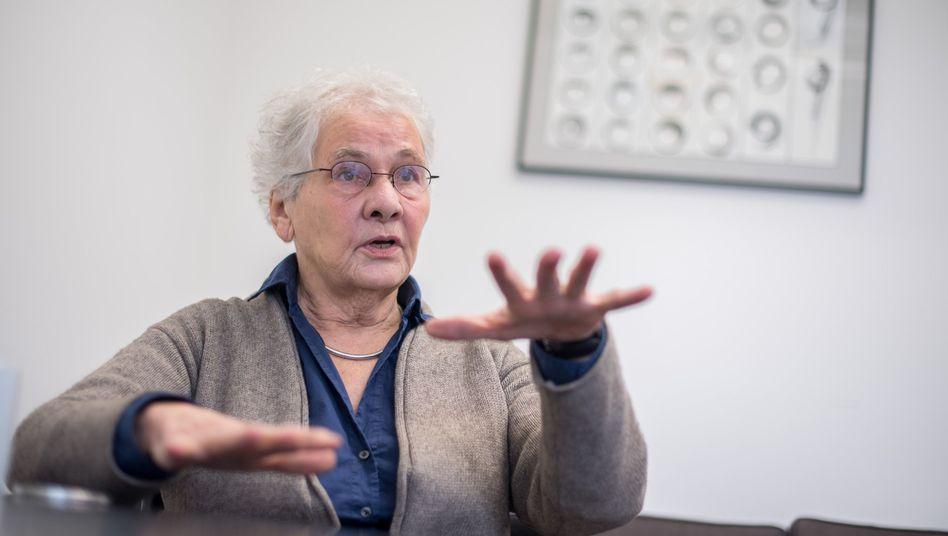 Nobelpreisträgerin Christiane Nüsslein-Volhard