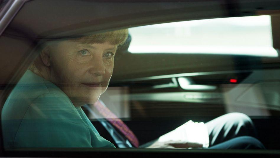 Kanzlerin Merkel: Respekt für die Finte
