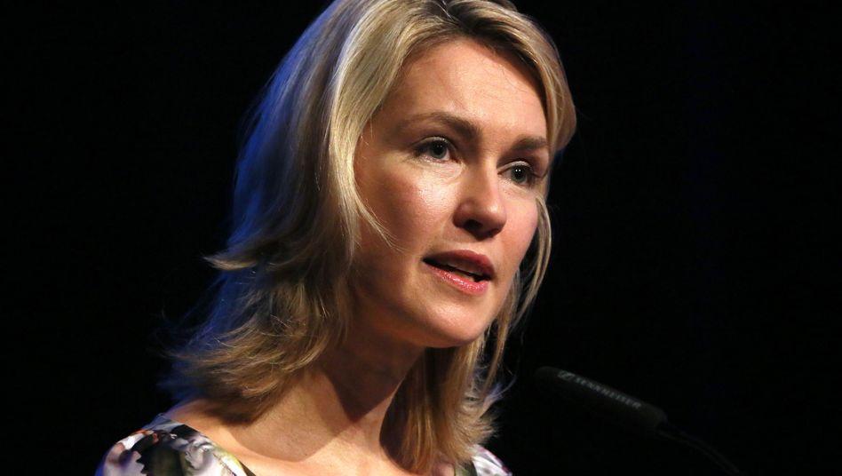 Bundesfamilienministerin Manuela Schwesig (SPD): Programm hier, Programm dort
