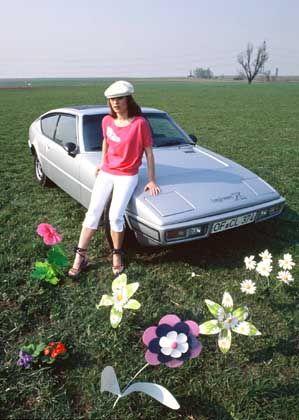 Matra Bagheera mit Pril-Blümchen: Sportwagen-Stil der siebziger Jahre