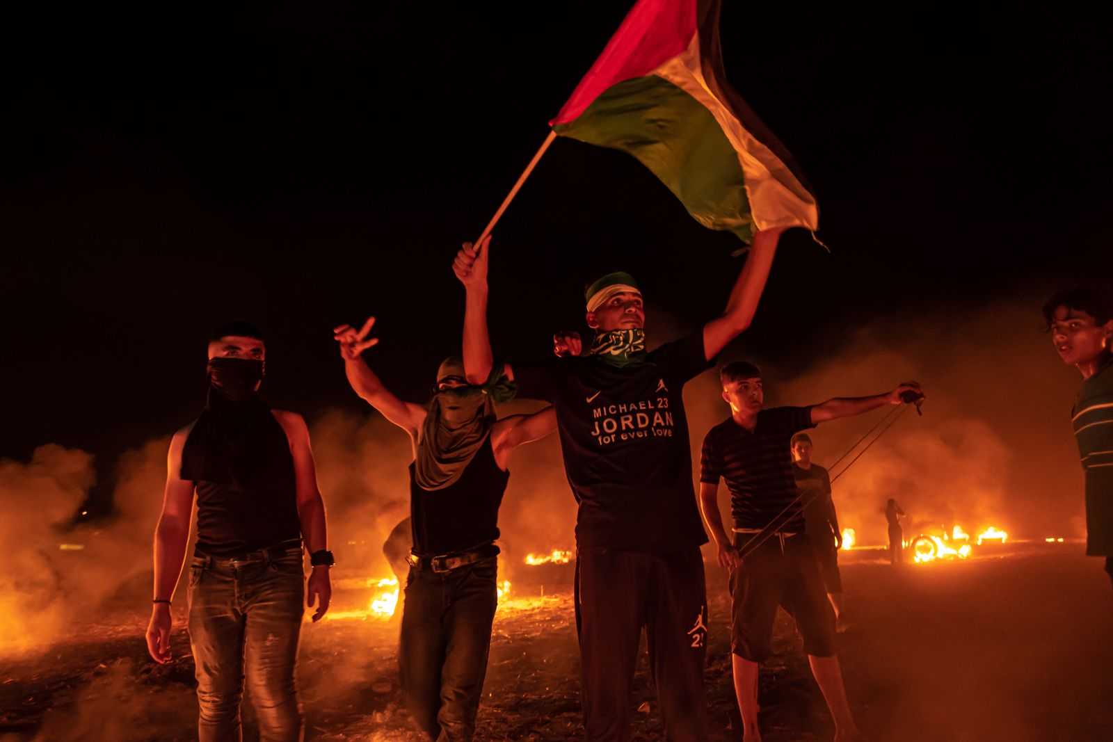Protests Continue In Gaza Over Increased Israeli Restrictions