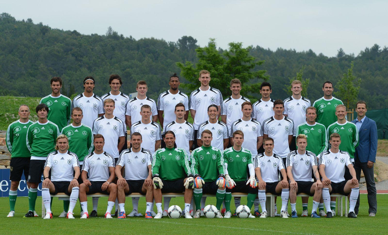 Deutschland Nationalmannschaft - Mannschaftsfoto
