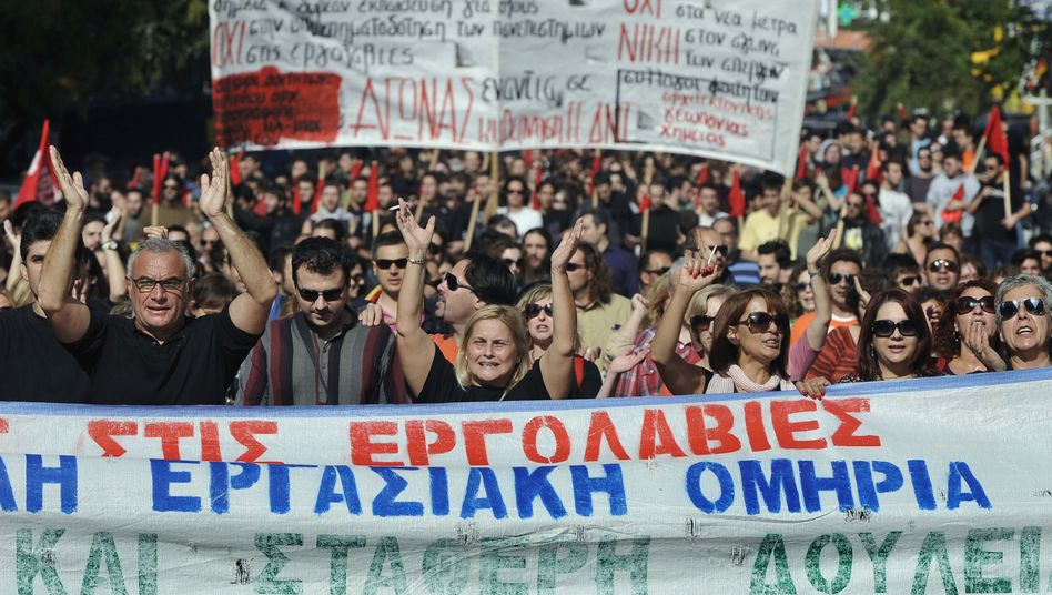 Greeks have been highly resistant to the austerity measures demanded by international creditors.