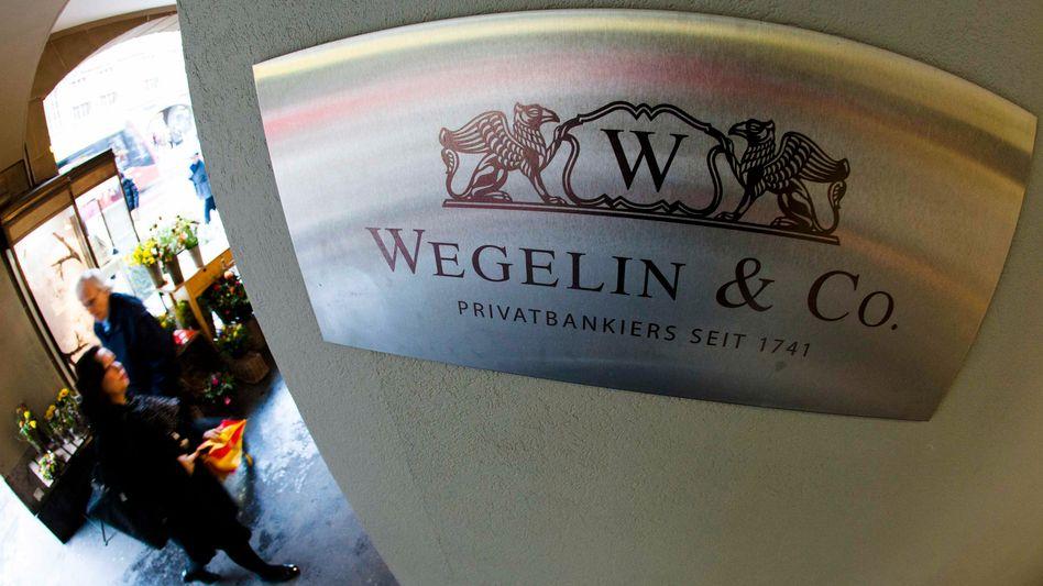 Logo des Bankhauses Wegelin: Ärger mit den USA