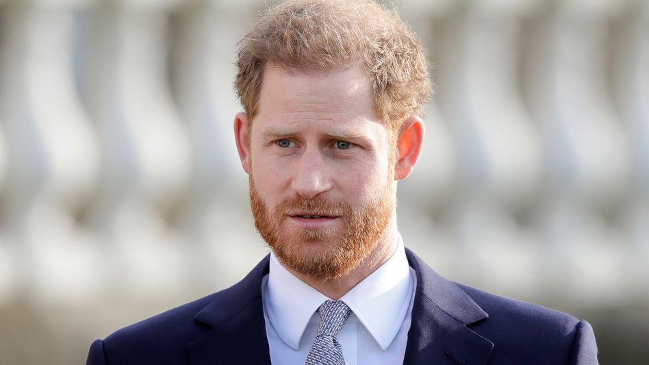 Prinz Harry soll in London angekommen sein (Archivbild)