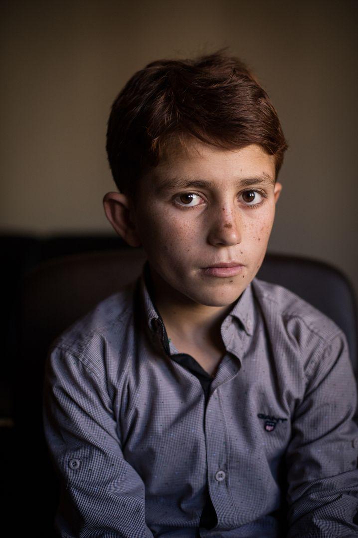 Traumatized child Wahad