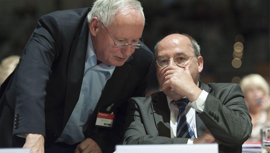 Linken-Politiker Lafontaine und Gysi: Viele Probleme für die Genossen