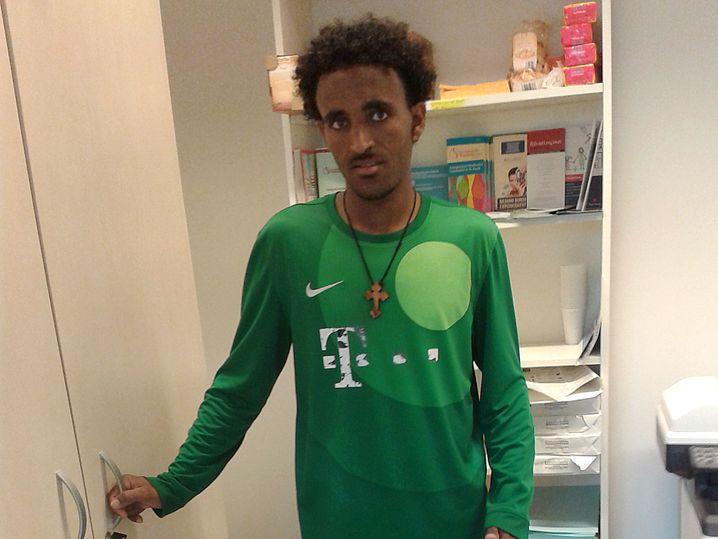 Habteab Tekle will für immer in Deutschland bleiben