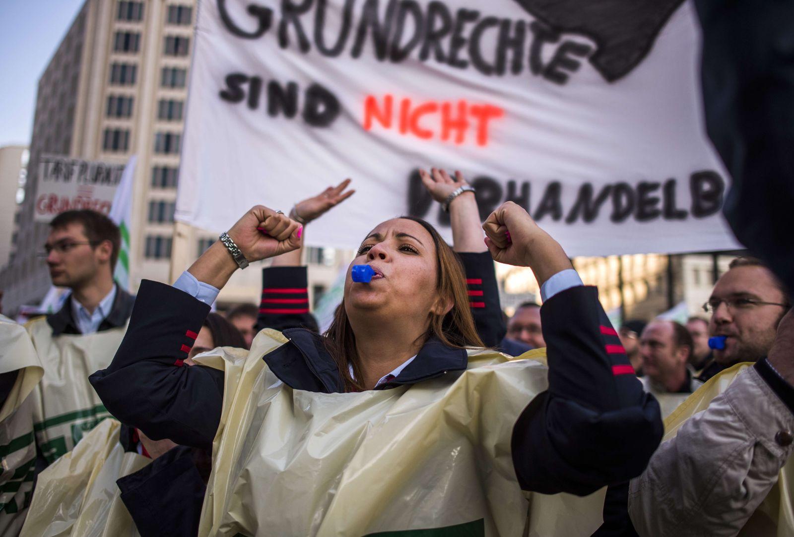 Bahn / GDL / Streik
