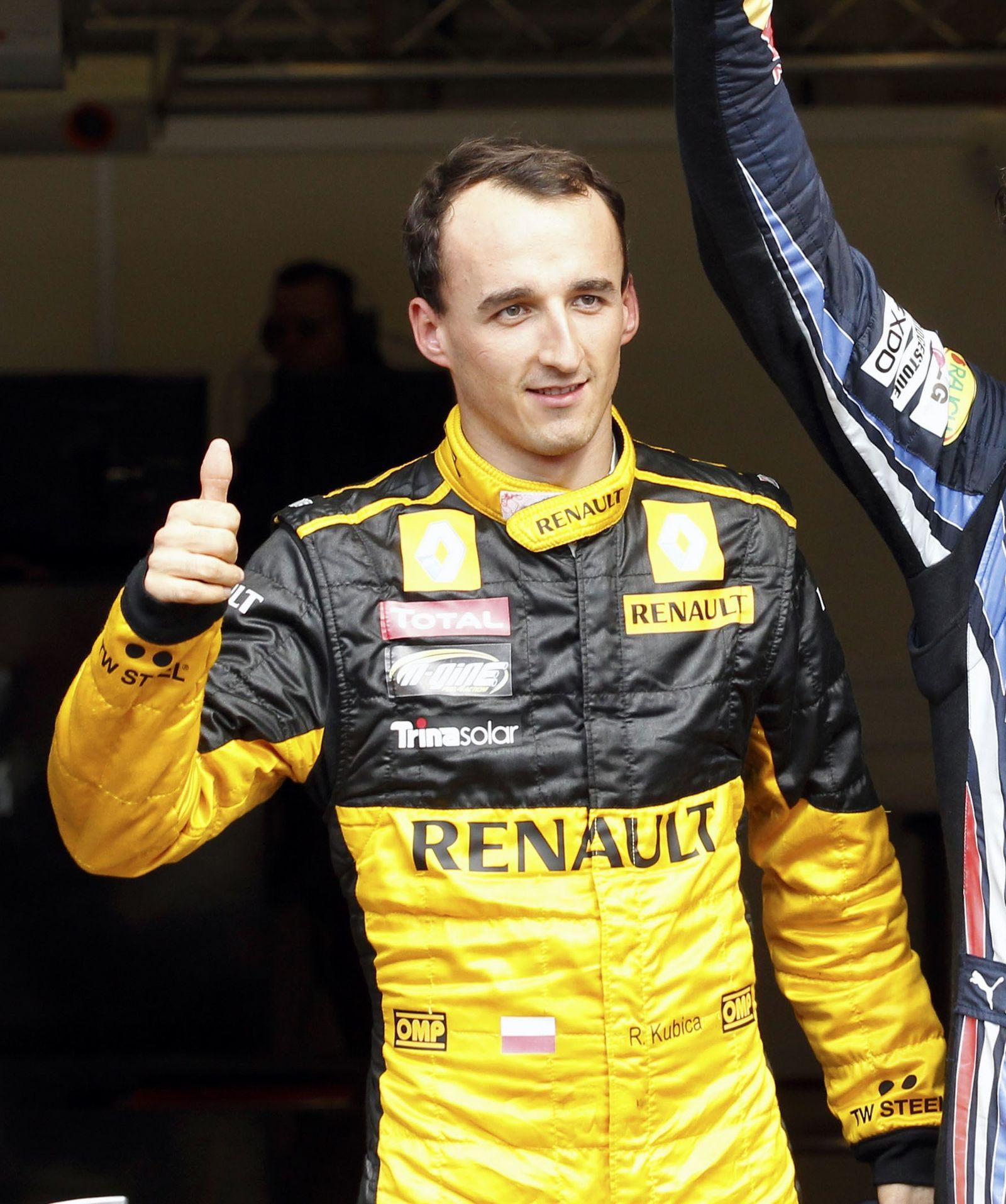 F1 Kubica Auto Racing