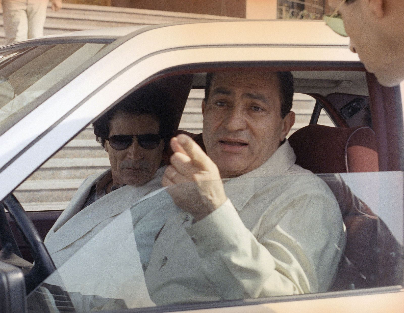 Muammar al-Gadhafi, Hosni Mubarak