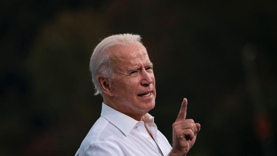 Joe Biden: Demokratischer Präsidentschaftskandidat