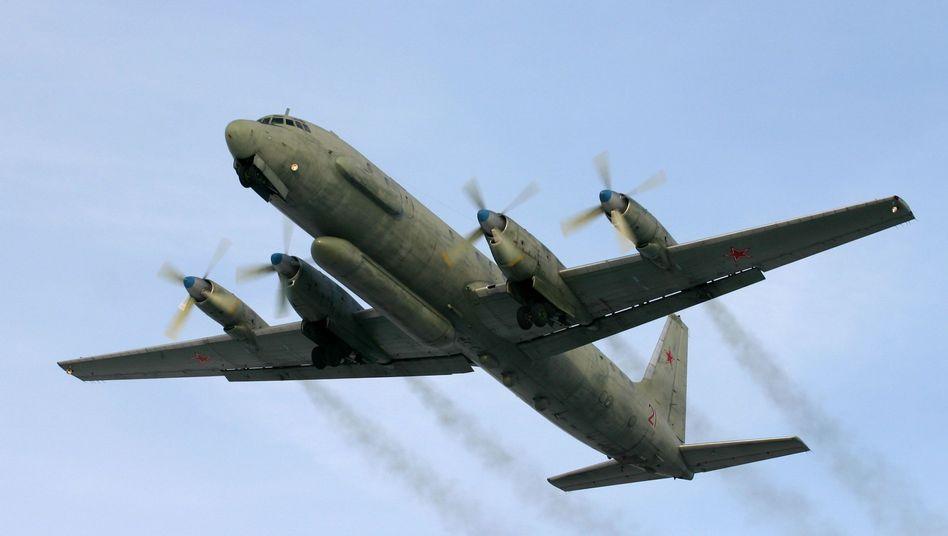 Russisches Aufklärungsflugzeug vom Typ Il-20