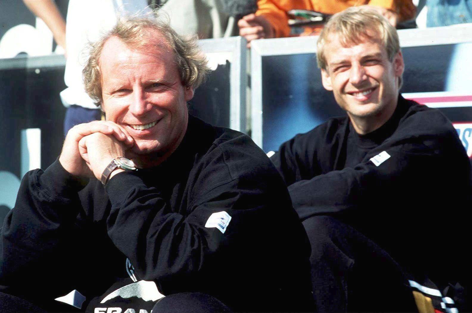 Berti Vogts/ Jürgen Klinsmann