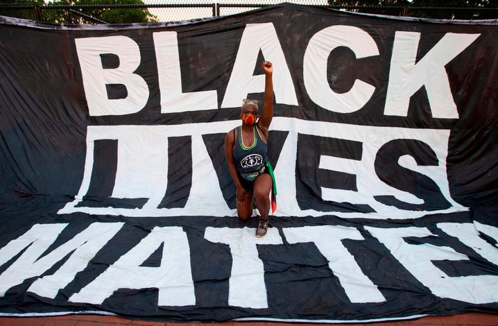 Weltweit fanden Black-Lives-Matter-Proteste gegen tödlichen Rassismus statt