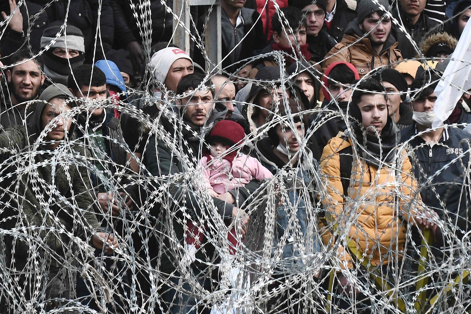 GREECE-TURKEY-EU-MIGRANTS-CONFLICT