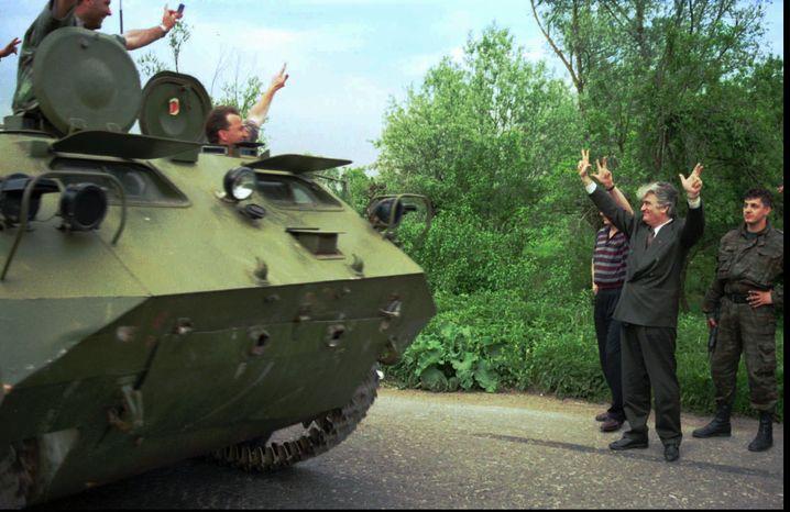 Karadzic (im Mai 1995)
