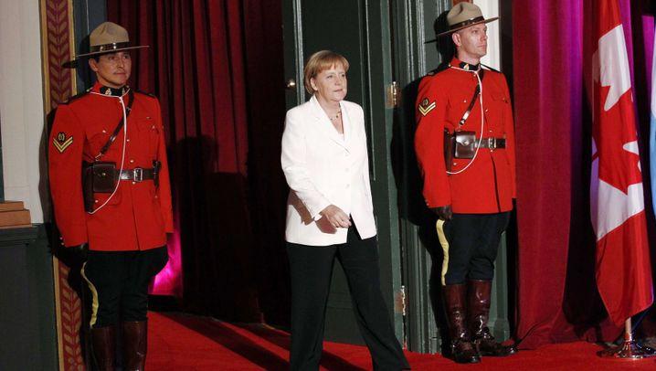 G-20-Gipfel: Auflauf auf dem roten Teppich