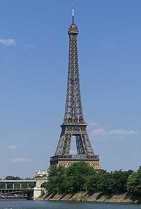 Olala, die Eiffelturm!