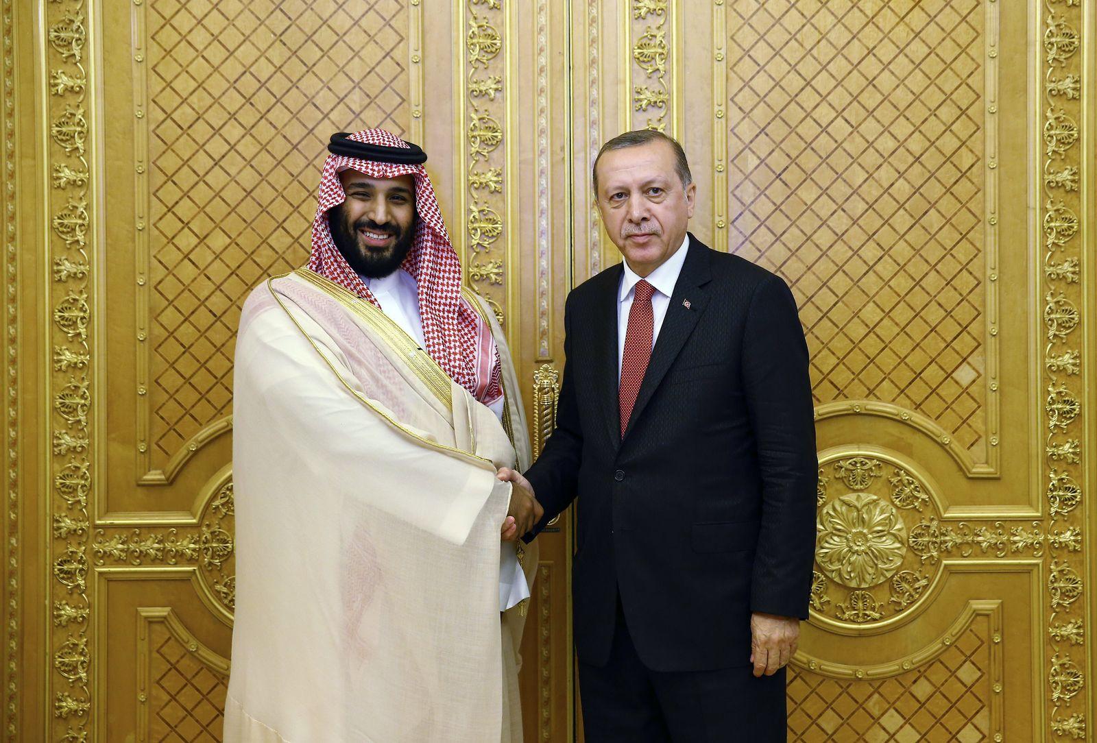 Erdogan besucht Golfstaaten