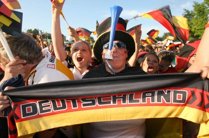 Deutschland-Fans in Hannover 2006
