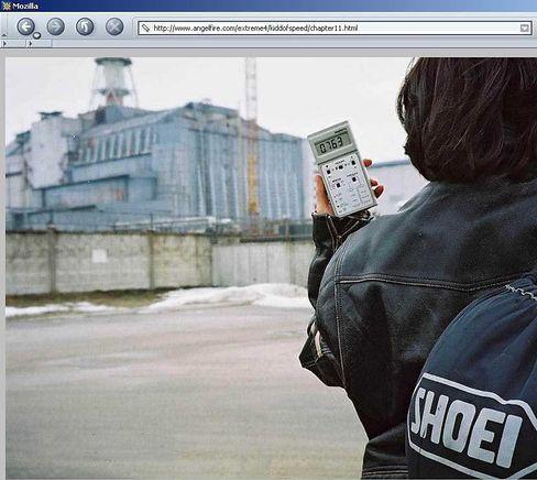 """""""Ghost Town"""" heißt Elenas Website: Sie sucht Spuren einer Vergangenheit, als hier noch Leben war"""