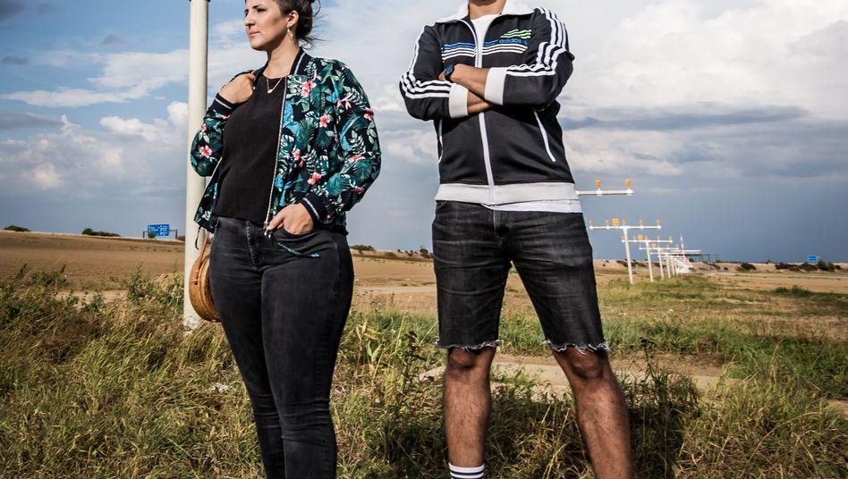 Karina and Isam Marnissi