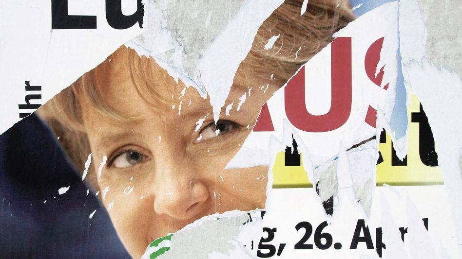 Plakatwand aus dem Wahlkampf 2009