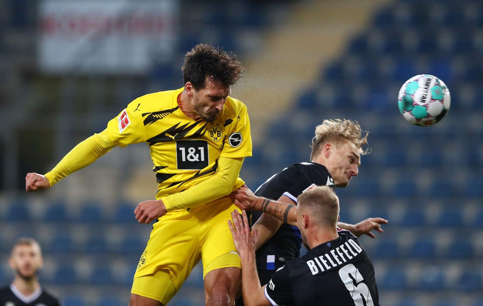 DSC Arminia Bielefeld v Borussia Dortmund, Germany - 31 Oct 2020