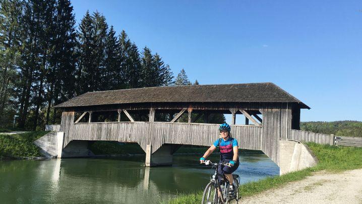 Tranalp-Tourenrad-Route: München-Venezia