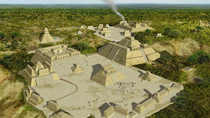 Maya-Archäologie: In Menschenknochen gemeißelt
