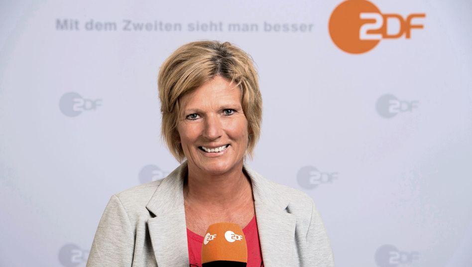 ZDF-Sportjournalist Claudia Neumann