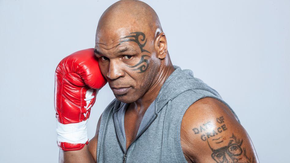 Mike Tyson bei einem Fotoshooting 2015 in Los Angeles: »Zahlen lügen nicht«