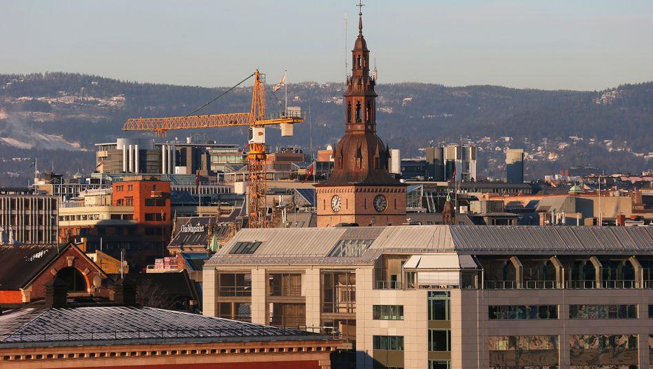 Skyline von Oslo (Archivbild): Die Einnahmen aus dem Staatsfonds werden für Sozialausgaben genutzt