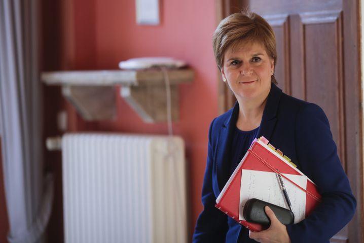 """Nicola Sturgeon: """"EU verbunden bleiben"""""""