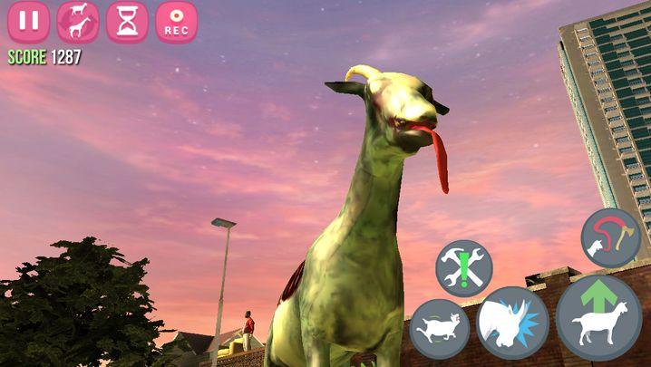"""Bild aus """"GoatZ"""": Als Ziege im Zombie-Land"""