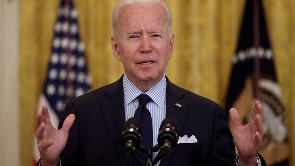 Joe Biden: Verfolgt einen anderen Kurs als Donald Trump